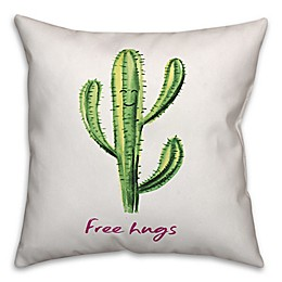 Designs Direct Free Hugs Square Throw Pillow