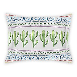 Designs Direct Aztec Cactus Pillow Sham in Green