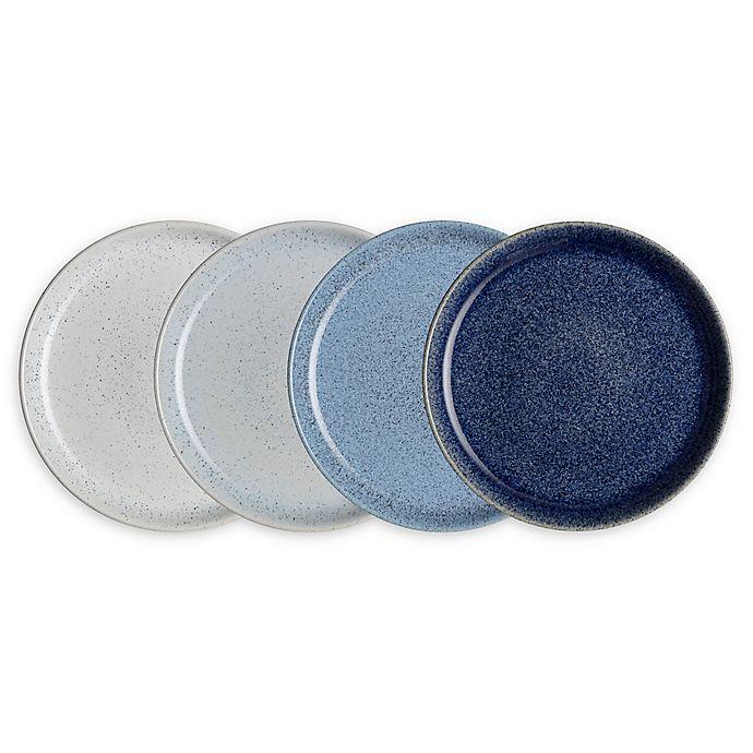 Alternate image 1 for Denby Studio Blue Dinner Plates (Set of 4)