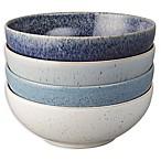 Denby Studio Blue Cereal Bowls in Blue/White (Set of 4)
