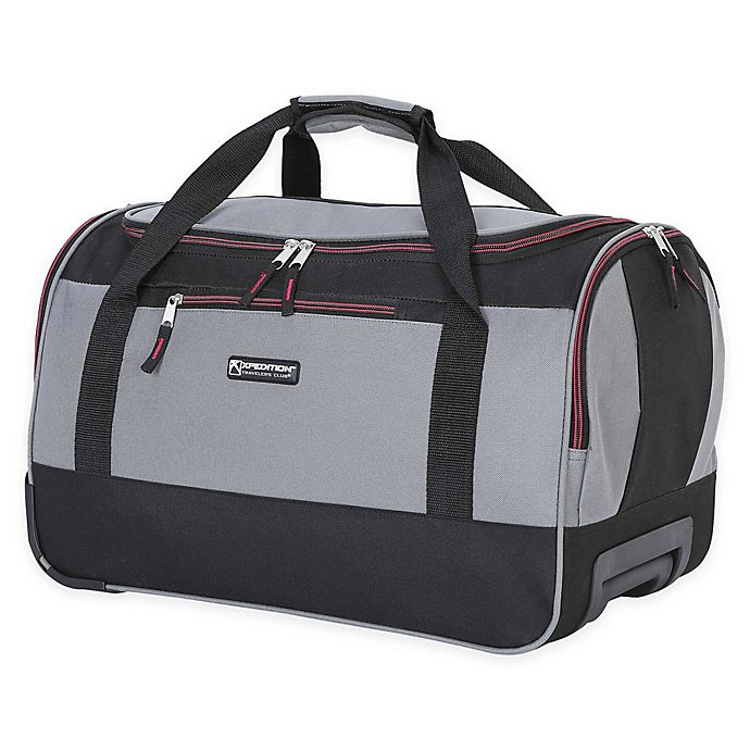 bcc767e9f Traveler's Club® XPedition™ 20-Inch Rolling Duffle Bag | Bed Bath ...