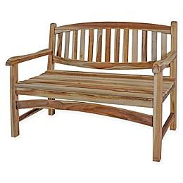 EcoDecors™ Kent Garden Solid Teak Garden Bench