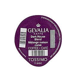 Gevalia 12-Count Dark House Blend Coffee T DISCs for Tassimo™ Beverage System