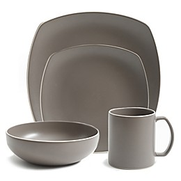 Artisanal Kitchen Supply® Edge 16-Piece Dinnerware Set in Stone