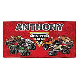 Monster Jam® Madness Beach Towel