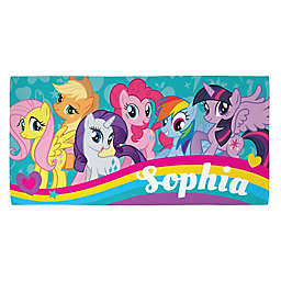 My Little Pony Beach Towel in Teal