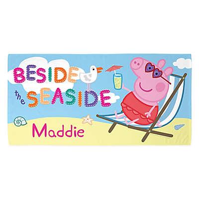 Peppa Pig Beside the Seaside Beach Towel