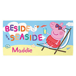 Peppa Pig Beside the Seaside Beach Towel