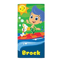 Bubble Guppies Surf Beach Towel