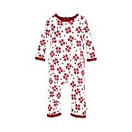 Burt's Bees Baby® Size 18M Geometric Snowflake Ruffled Coverall in Ivory