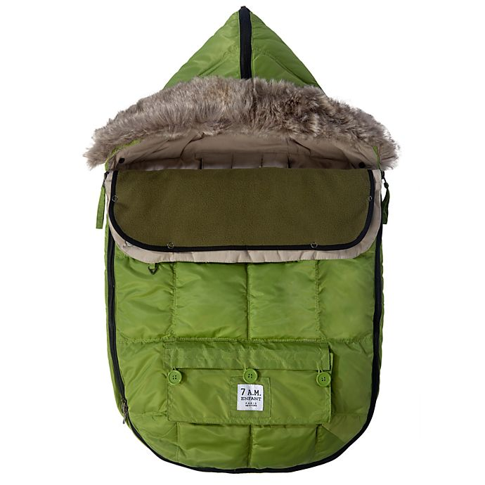 Alternate image 1 for 7 A.M.® Enfant Size 0-6M Le Sac Igloo® in Kiwi
