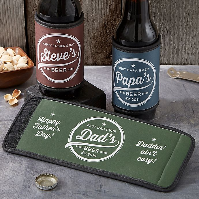 Alternate image 1 for Father's Day Can & Bottle Wrap