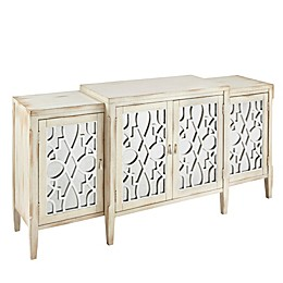Madison Park Folio Buffet in Antique White