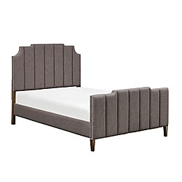 Madison Park Signature Wesley Queen Bed in Dark Grey