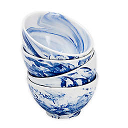 Over and Back® Dune Marble Bowls (Set of 4)