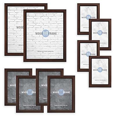 Core Gallery Wood Photo Frame Set (10-Piece Set)