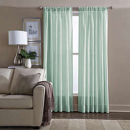 Wamsutta® Sheer 108-Inch Window Curtain Panel in Sea Mist