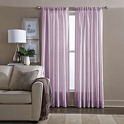 Wamsutta® Sheer 108-Inch Window Curtain Panel in Lilac