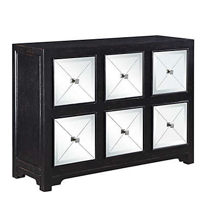 Scott Living Transitional Accent Cabinet in Brown