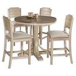 Hillsdale Furniture Clarion 5-Piece Round Dining Set