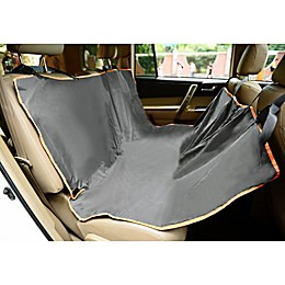 Iconic Pet FurryGo Hammock Pet Car Cover in Grey