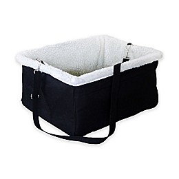 Iconic Pet Adjustable Pet Car Booster Seat in Black