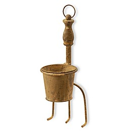 National Tree Company Garden Accents 15-Inch Cultivator Flowerpot in Rust