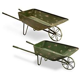 National Tree Company Garden Accents Garden Cart in Green