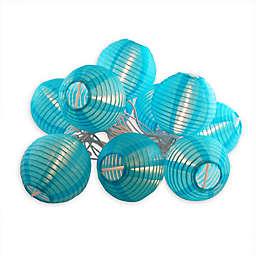 "Electric String Light with 3"" Nylon Lanterns (10 Lights)"