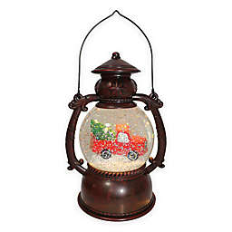Winter Wonderland Truck Lantern in Red