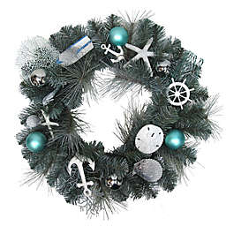 Winter Wonderland 24-Inch Coastal Wreath