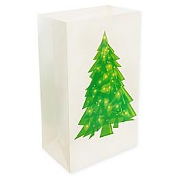 Lumabase 24-Count Christmas Tree Luminaria Bags