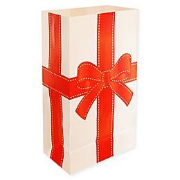 Lumabase 24-Count Christmas Present Luminaria Bags