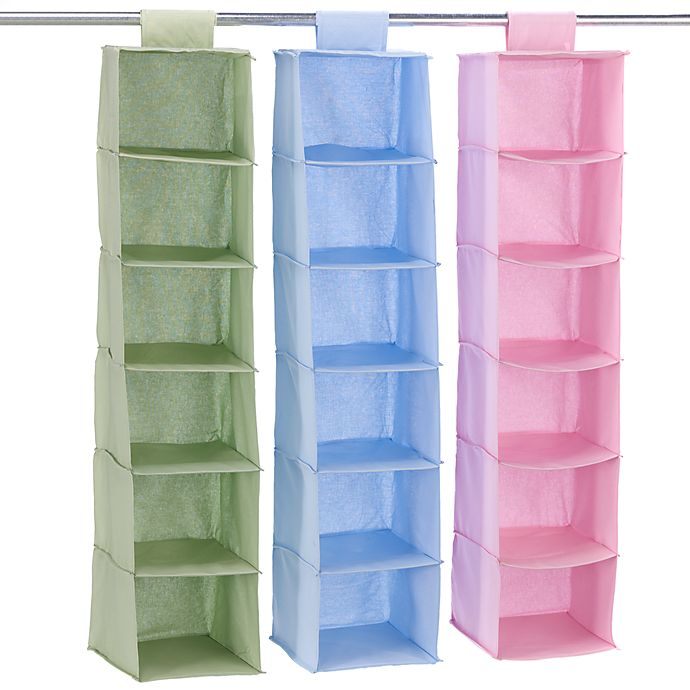 Hanging 6 Shelf Closet Organizer Bed Bath Amp Beyond