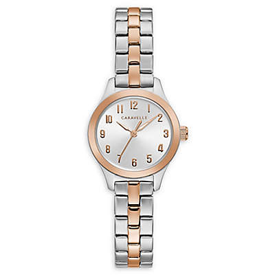 CARAVELLE Women's 24MM Two-Tone 45L175 Watch