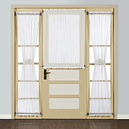 Madura Batiste Rod Pocket Door Window Curtain Panel