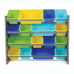 Tot Tutors Elements Super-Sized Toy Organizer in Grey/Multi