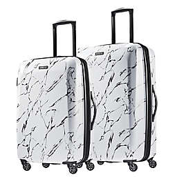 American Tourister® Moonlight Hardside Spinner Checked Luggage in Marble