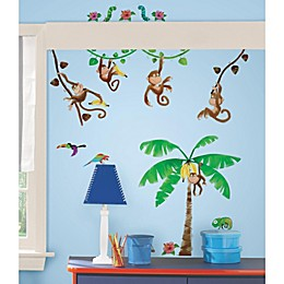 Roomates Monkey Business Peel & Stick Wall Decals