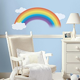 Roomates 4-Piece Rainbow Peel & Stick Wall Decal