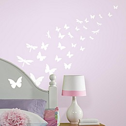 Roomates Butterfly Glow-in-the-Dark Peel & Stick Wall Decals