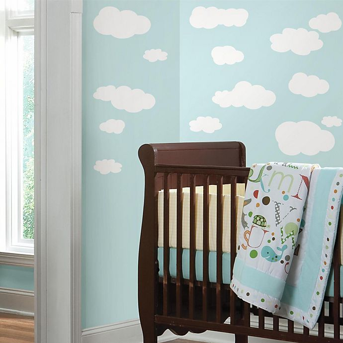 White Clouds Peel Stick Wall Decals Bed Bath Beyond