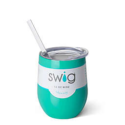 Swig™ Insulated Stemless Wine Tumbler in Turquoise