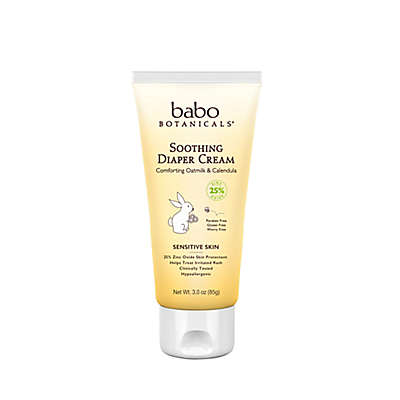Babo Botanicals® 3 oz. Soothing Diaper Cream in Oatmilk and Calendula