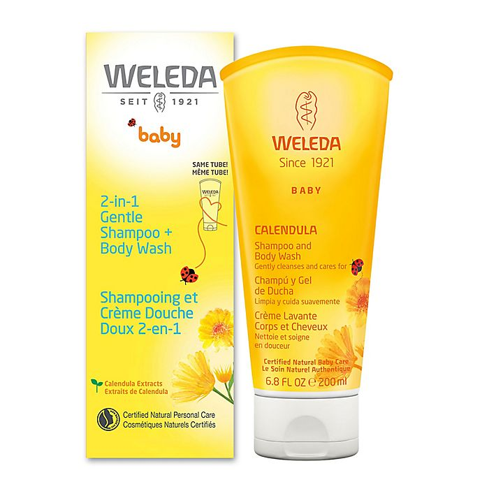 Alternate image 1 for Weleda 6.8 fl. oz. 2-in1 Gentle Calendula Shampoo & Body Wash