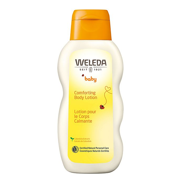 Alternate image 1 for Weleda 6.8 fl. oz. Baby Comforting Body Lotion with Calendula