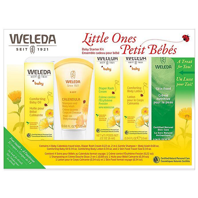 Alternate image 1 for Weleda 5-Piece Calendula Baby Starter Kit