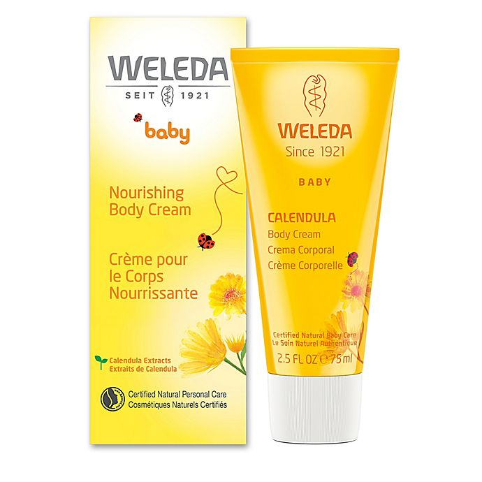 Alternate image 1 for Weleda 2.5 oz. Nourishing Baby Calendula Body Cream