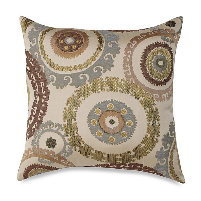 Alternate image 1 for Suzanni Blue and Green 20-Inch Square Toss Pillow