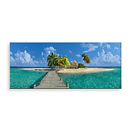 Christopher Knight Collection Welcome to Paradise Canvas Print 58-Inch x 18-Inch Wall Art